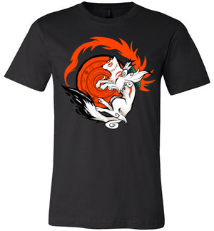 White Wolf Goddess-Gaming Shirts-Art Of Sarah Richford|Threadiverse