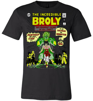 The Incredible Broly-anime shirts-Ddjvigo|Threadiverse
