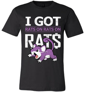 I Got Rats-Gaming Shirts-CoD (Create Or Destroy) Designs|Threadiverse
