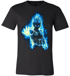 SSJ Blue Vegeta-Anime Shirts-Barrett Biggers|Threadiverse