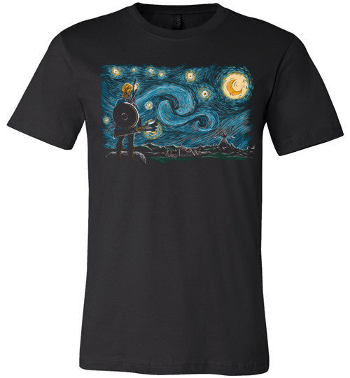 Starry Wild-Gaming Shirts-Ddjvigo|Threadiverse
