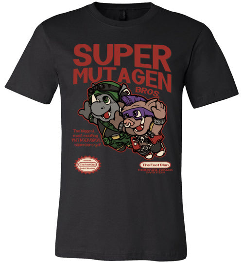 Super Mutagen Bros-Pop Culture Shirts-Angzdu|Threadiverse