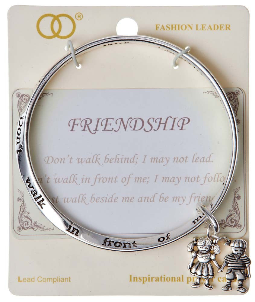 Silver Friendship Bracelet
