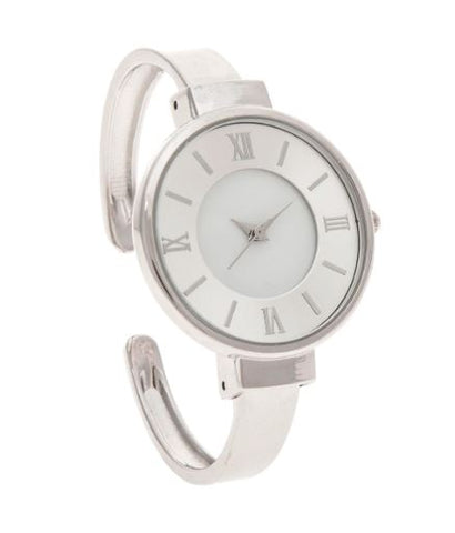 Beautiful Silver Cuff Watch