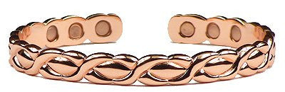 Copper Magnetic Bracelet Cuff