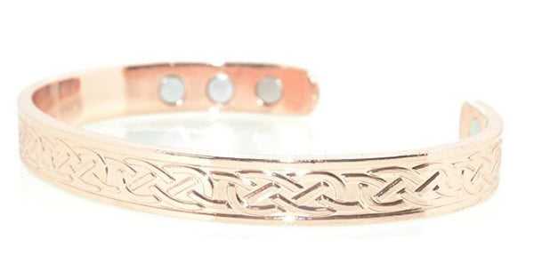 Copper Celtic Bracelets with Magnets for Arthritis and pain relief