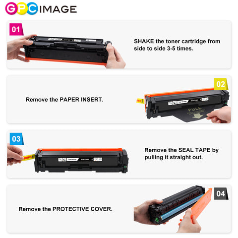 GPC Image Compatible Toner Cartridge Replacement for HP 201X