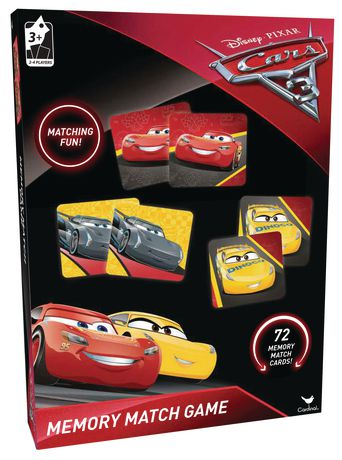 Disney Cars 3 Memory Match Game Toyboxja