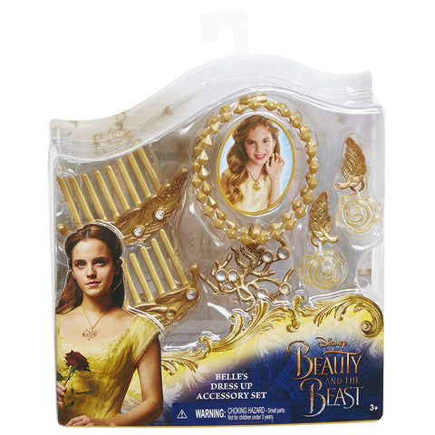 Disney Beauty & The Beast Belle's Dress Up Accessory Set