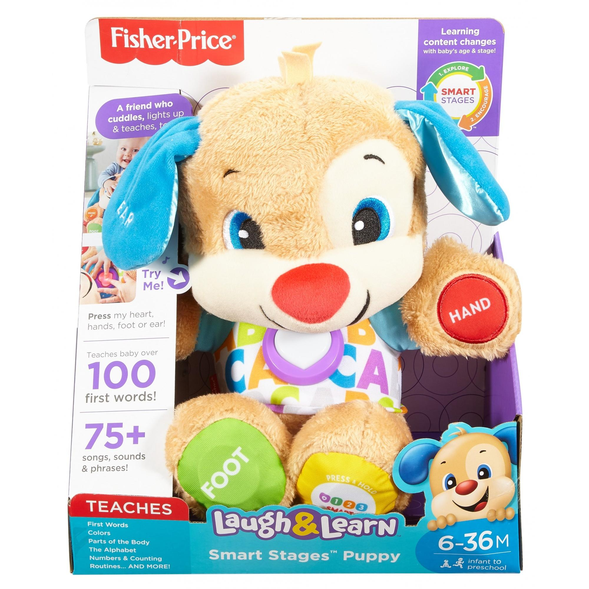 9d01aaf758 Fisher-Price Laugh & Learn Smart Stages Puppy | ToyBoxJa
