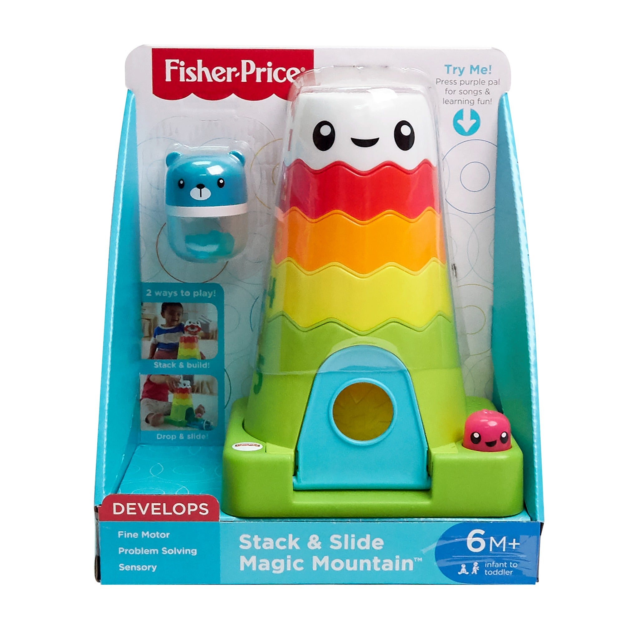Fisher-Price Stack & Slide Magic Mountain