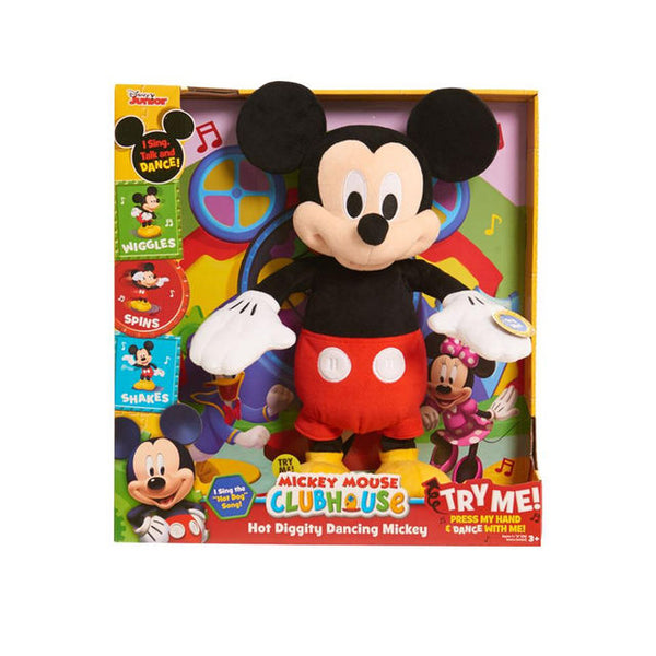 Disney Mickey Mouse Dancing Hot Diggity Toyboxja