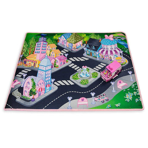 Disney Minnie Mouse Playmat with Van