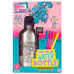 Your Decor Color your Own Water Bottle