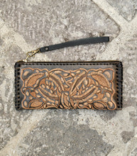 Load image into Gallery viewer, Embossed Leather Wallet