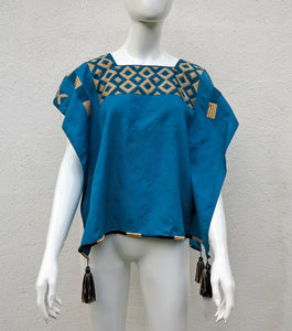 Handwoven Cotton Huipil