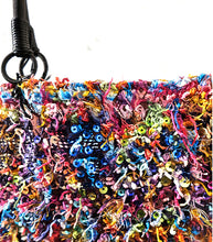 Load image into Gallery viewer, Inverted Huipil Bag intervened with Sequins