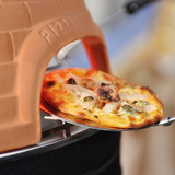 a close look at the pizzarette stainless steel spatula accessory