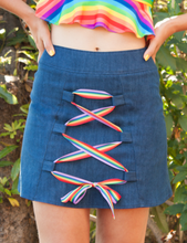 ★ TIED UP IN RAINBOWS SKIRT ★