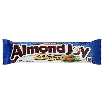 Almond Joy Milk Chocolate Coconut & Almond Candy Bars,1.61 OZ ($0.80/each)