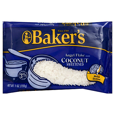 Baker's Angel Flake Sweetened Coconut  7 OZ  ($0.22/ounce)
