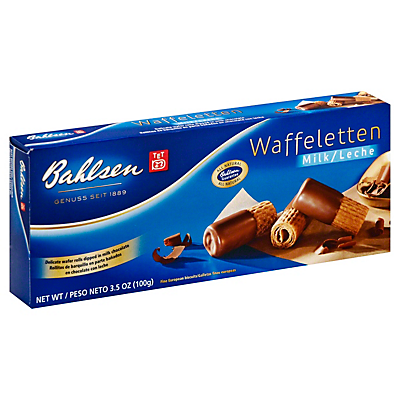 Bahlsen Waffeletten Milk Chocolate  3.5 oz (100 g)  ($0.69/ounce)