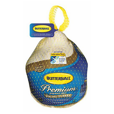 Butterball Frozen Premium Whole Young Turkey,24-26 LBS ($0.11/ounce) 1.73/ lb