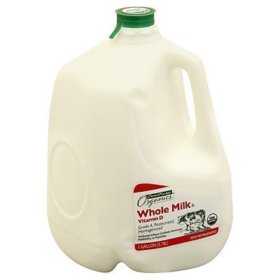 Central Market Organics Vitamin D Whole Milk,1 GAL
