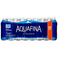 Aquafina Purified Drinking Water 32 PK,0.5 LTR