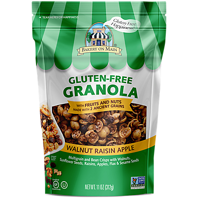 Bakery On Main Gourmet Naturals Gluten Free Apple Raisin Walnut Granola  12 OZ  ($0.42/ounce)