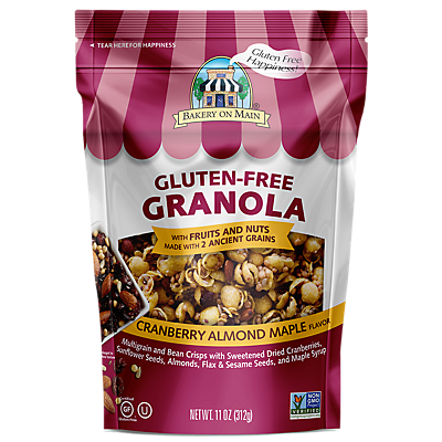 Bakery On Main Gourmet Naturals Gluten Free Nutty Cranberry Maple Granola  12 OZ  ($0.42/ounce)