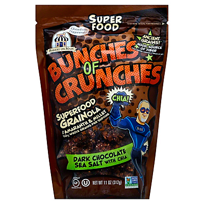Bakery On Main Bunch Of Crunch Dark Chocolate Sea Salt  11 oz  ($0.56/ounce)