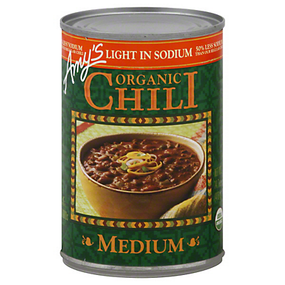 Amy's Organic Light In Sodium Organic Chili Medium  14.70 oz  ($0.18/ounce)