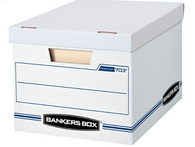 Bankers Box® Stor/File™ Basic Strength Storage Boxes, 15