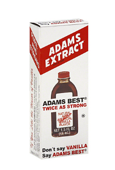 Adams Extract Best Twice As Strong Vanilla,1.5 OZ