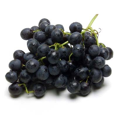 Black Seedless Grapes 1 Bag
