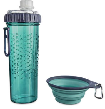 Adventure Seekers 2-in-1 Hydration and Snack Traveler