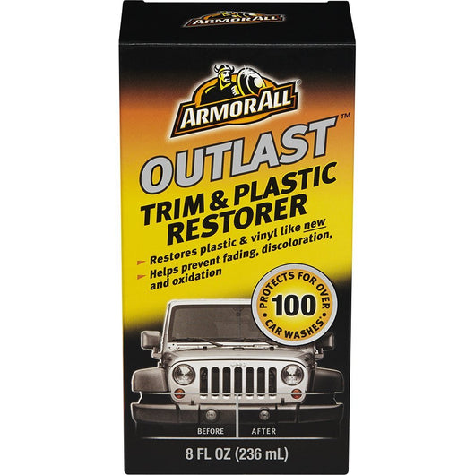 Armor All Outlast Trim & Plastic Restorer, 8 oz