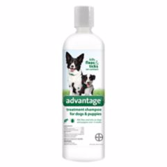 Advantage® Flea & Tick Dog & Puppy Shampoo