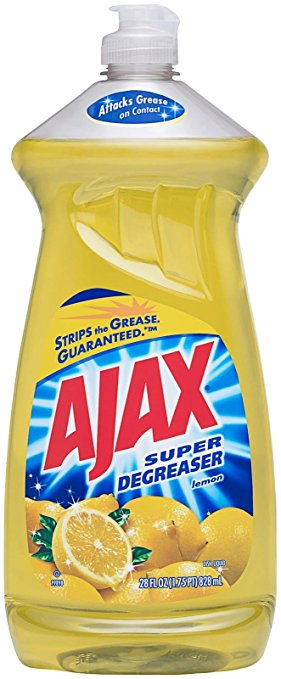 Ajax Super Degreaser Lemon Dish Liquid 28 oz