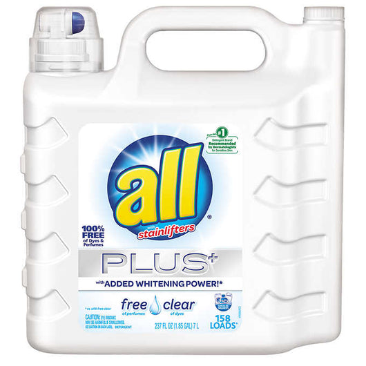 All Ultra Free & Clear Plus 237 oz. 158 Loads
