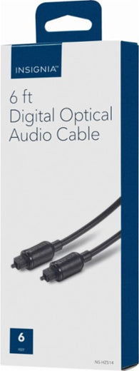 Insignia™ - 6' Toslink Optical Audio Cable - Black