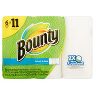 Bounty Super Rolls White 6 ct