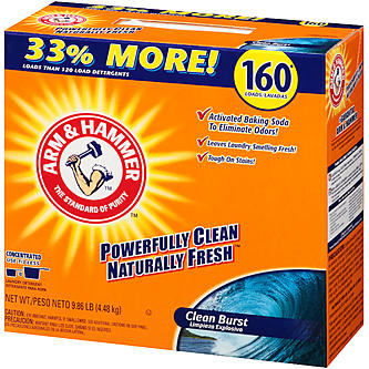 Arm & Hammer Clean Burst Power Detergent 160 Loads 9.86 lb