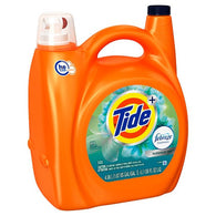 Tide Liquid Detergent With Febreze Botanical Rain 89 Loads, 138 oz