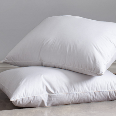 The Imperial Genuine Eiderdown Pillow With Cotton Cover