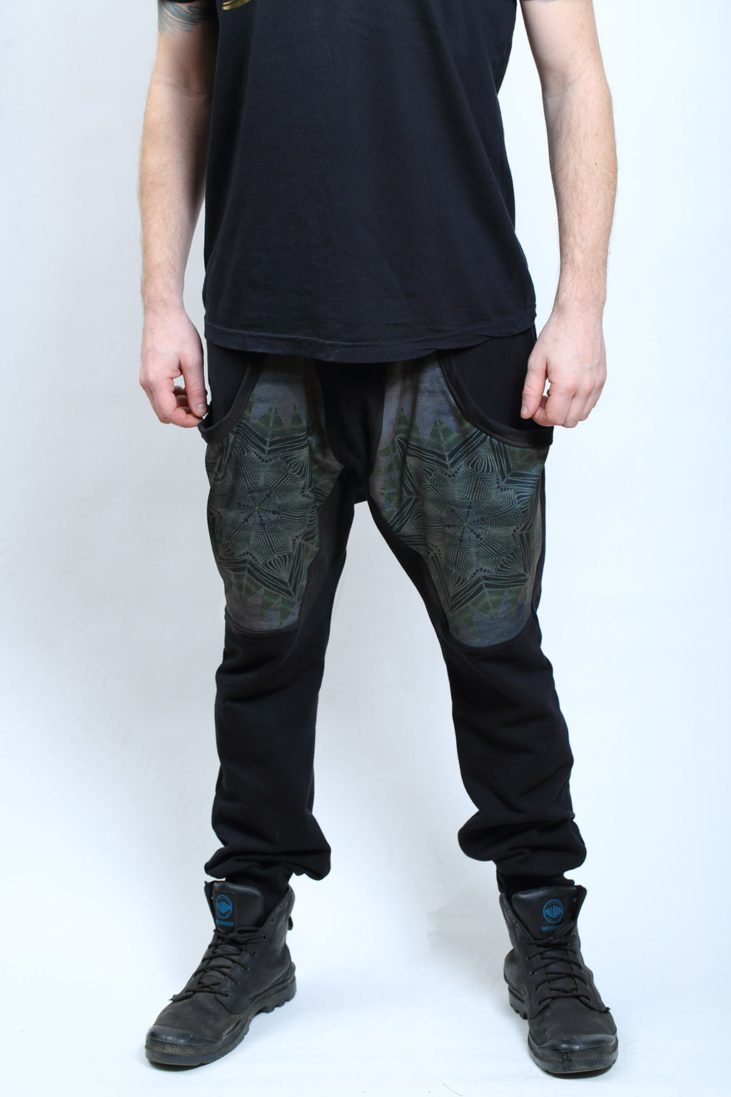 Illigent Apparel Men's Mandalien Joggers Lower Front Body