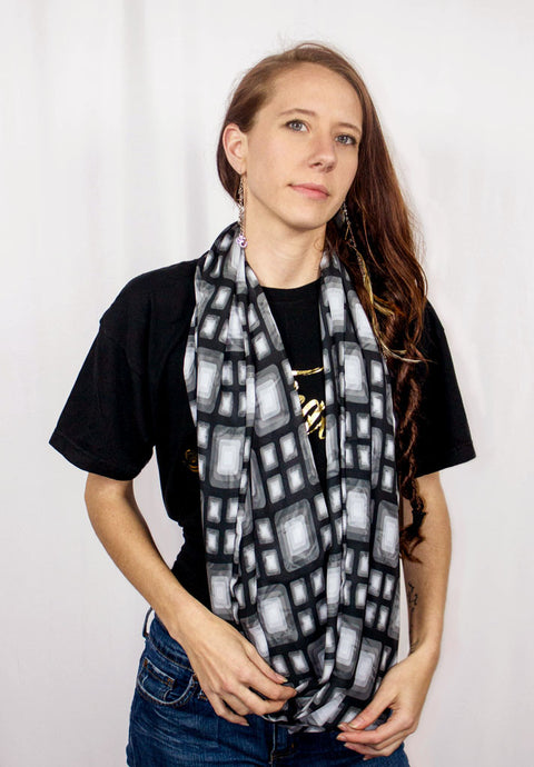 Cubism Infinity Scarf
