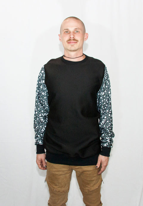 Men's Sparkle Blast Crew Neck Sweater