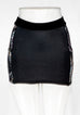 Women's Chic Noir Mini Skirt